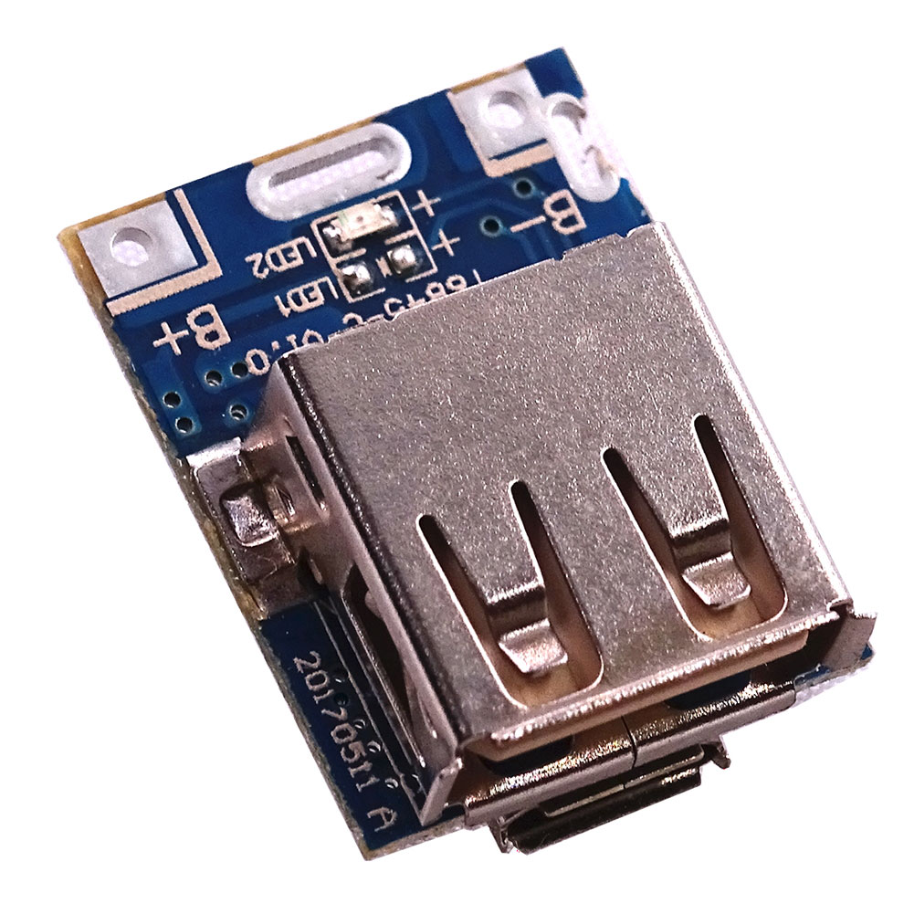 5V Boost Step Up Power Module Lithium Charging Protection Board for DIY Charger фото