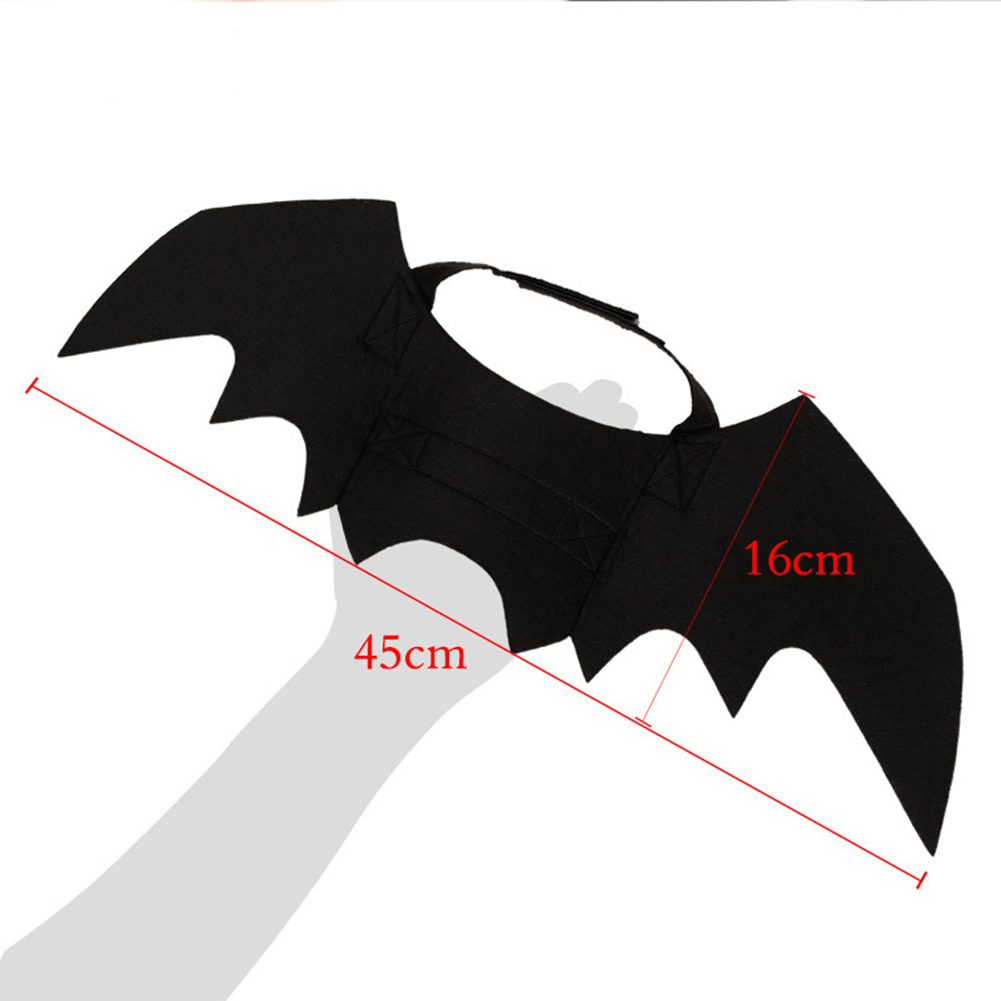 Pet Dog Cat Bat Vampire Fancy Dress Costume Outfit Wings for Halloween Christmas фото