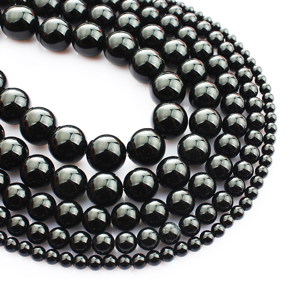Wholesale Natural Gemstone Loose Beads for DIY Jewelry Making 4mm 6mm 8mm 10mm 12mm Round Spacer Natural Gemstone Loose Beads фото