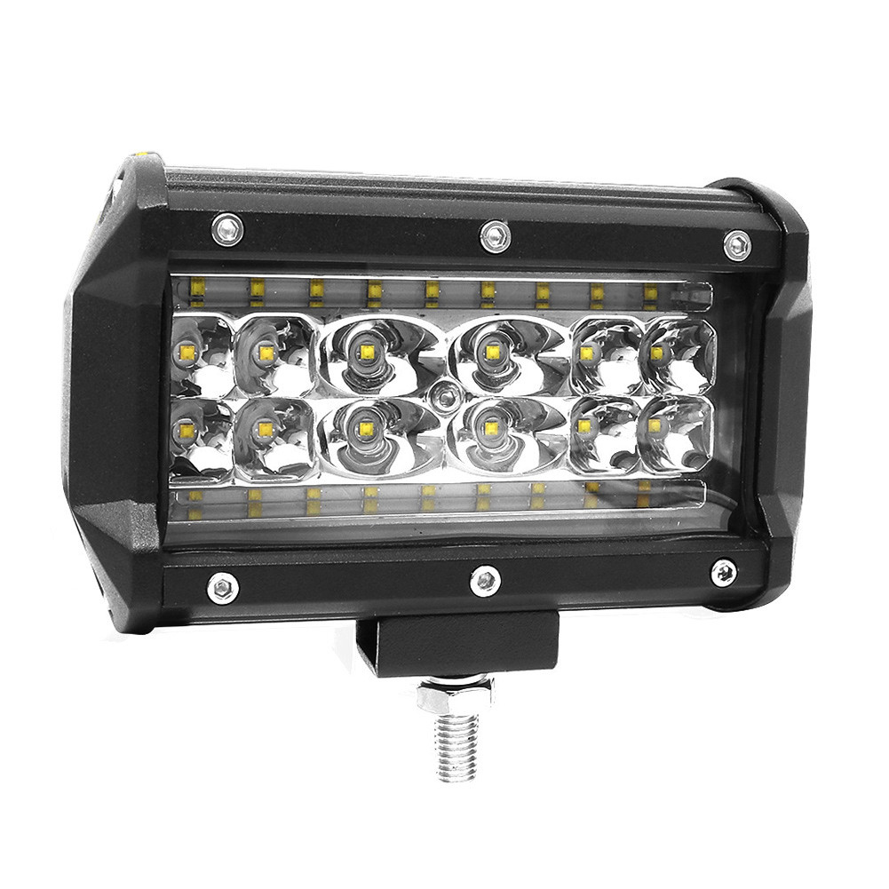 1Pcs 5inch 28LED Work Light Bar168W Flood Combo Pods Driving Off-Road Tractor 4WD 12V фото