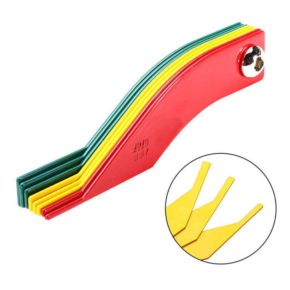 8-in-1 Automotive Brake Pad Measure Ruler Tool Feeler Lining Thickness Gauge фото