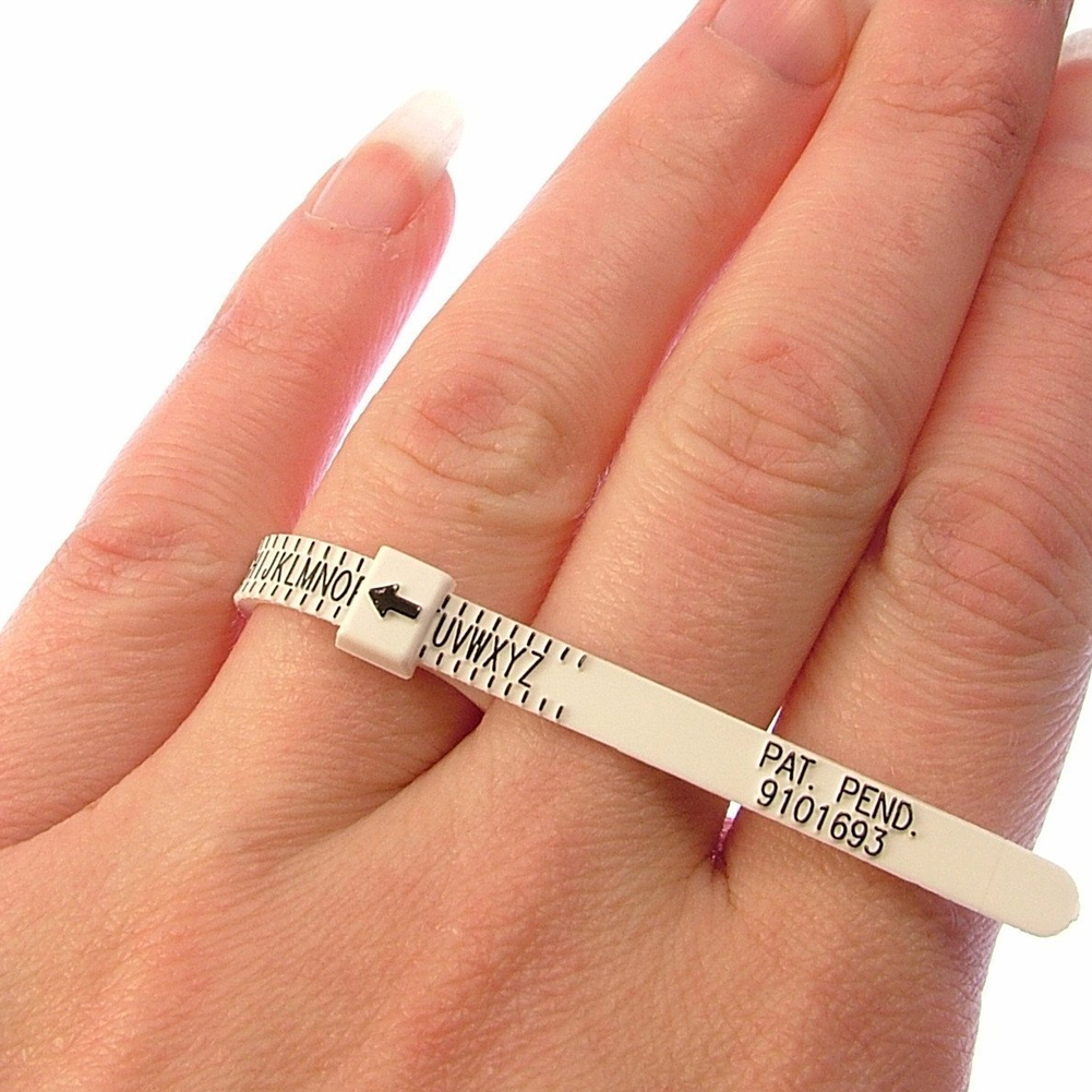 Ring sizer UK US Official British Finger Measure Gauge Men and Womens Sizes A-Z 1-17 фото