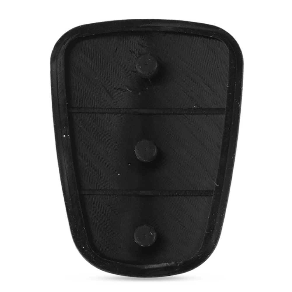 Car Key Shell Replacement Rubber Button Pad Fit For Hyundai Solaris Accent Tucson l10 l20 l30 Kia Rio Ceed Flip Remote фото