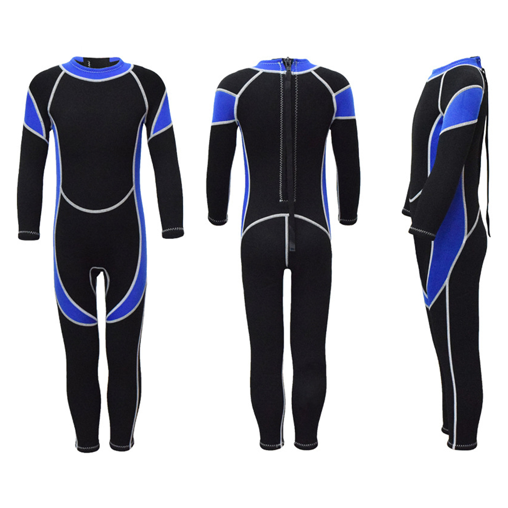 2.5MM Neoprene Wetsuits Kids Scuba Diving Suits Boys Girls Surfing Guards Clothes For Youth фото