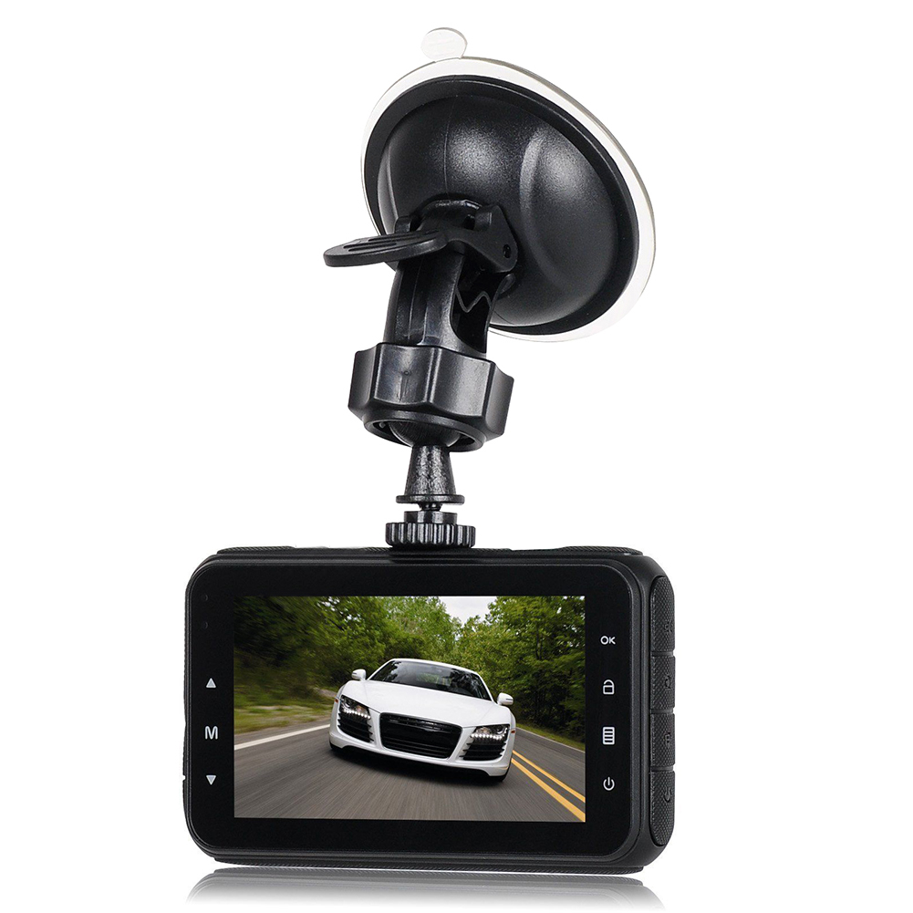 3'' Full HD 1080P Car DVR Video Camera Recorder Dashboard Dash Cam G-sensor фото