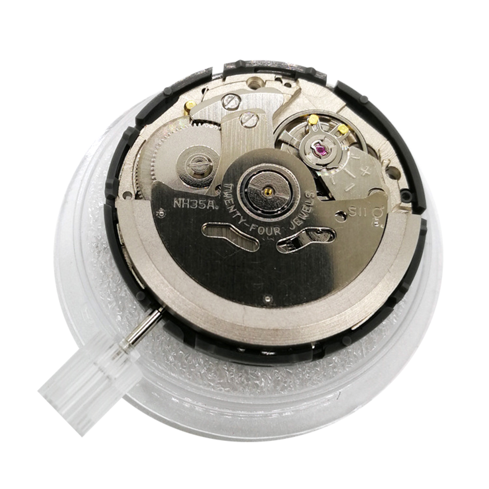 High Accuracy Automatic Mechanical Watch Wrist Movement Day Date Disc Wheel For NH35 Movement Parts фото