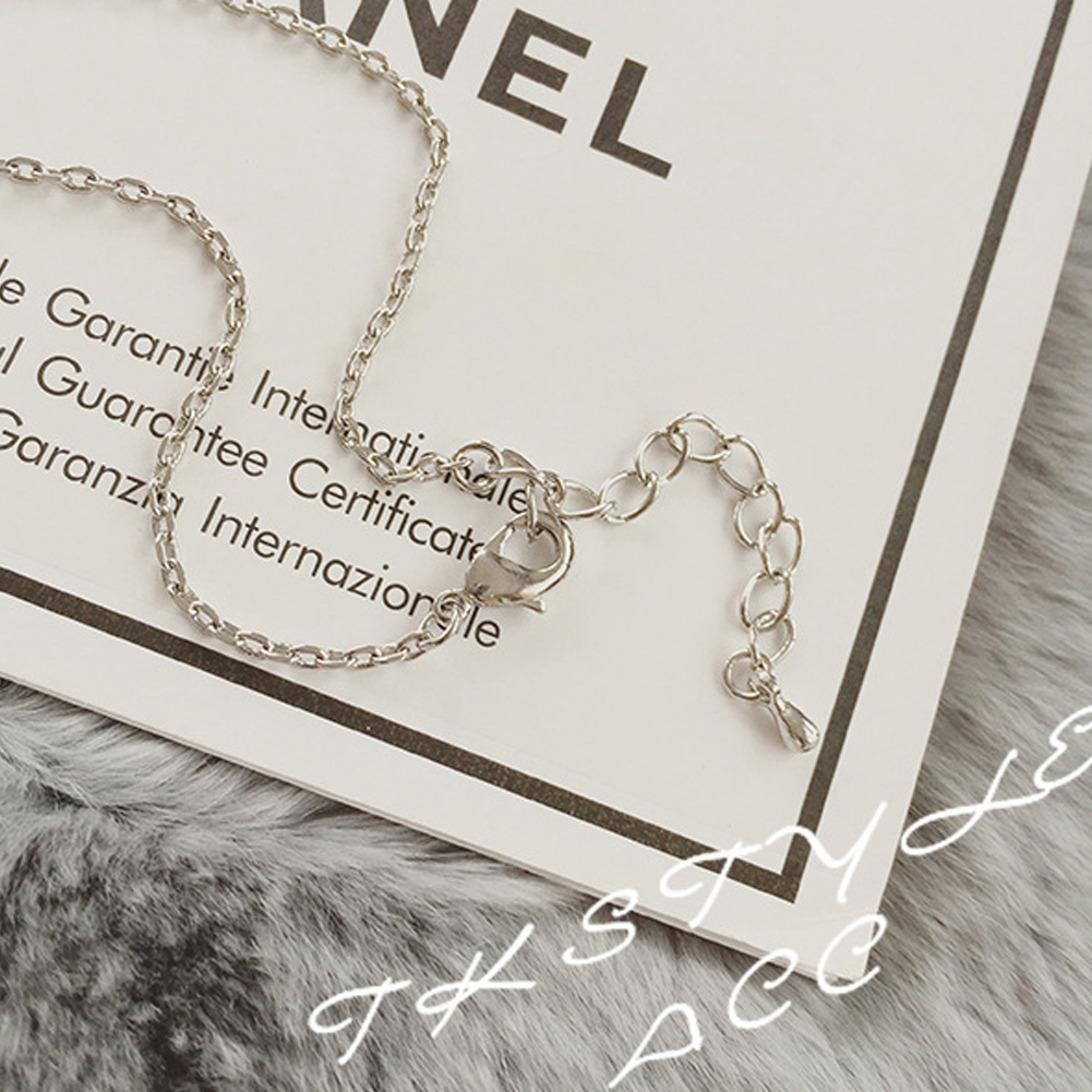 Classic Key Pendant Necklace Fashion Long Sweater Necklace Shining Crystal Pearl Cloth Accessory Silver Jewelry Gift For Women Girls фото
