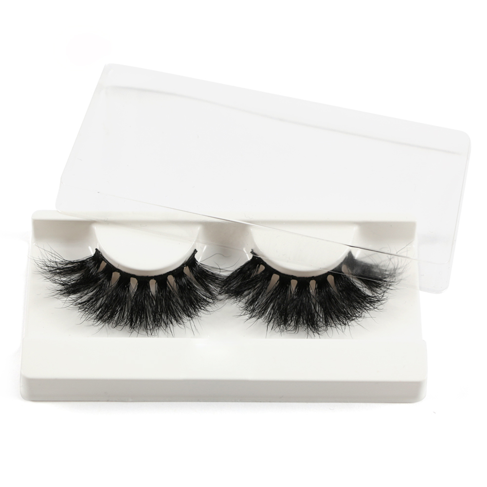 MAGEFY 1 Pair of 25mm Long 5D Mink False Eyelashes Eye Lashes Extension for Beauty Makeup фото