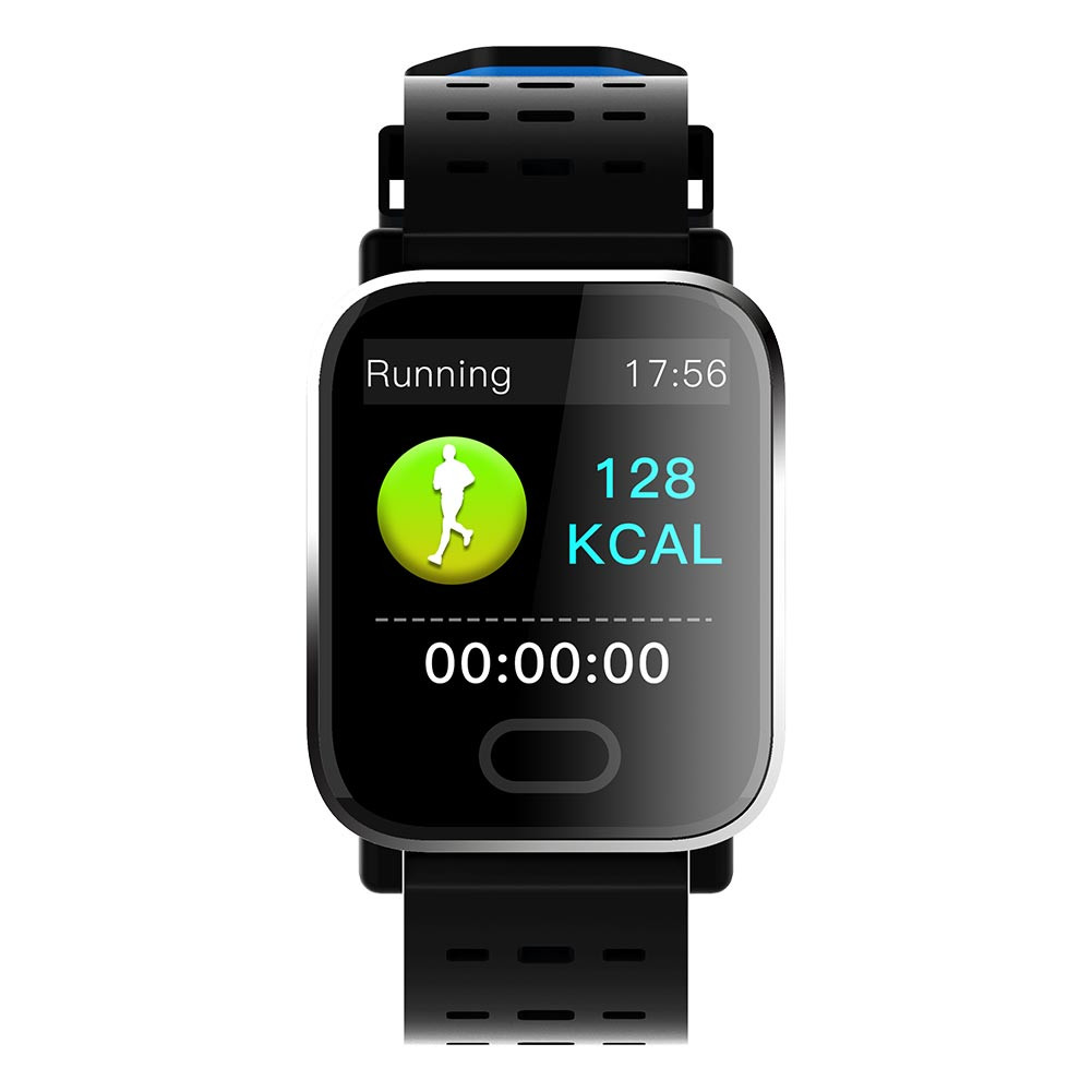 Fitness Smart Watch For Android iPhone Touch Screen Blueteeth Smartwatch Sleep Monitor Heart Rate Blood Pressure Smart Wrist Bracelet For Kids Men Women