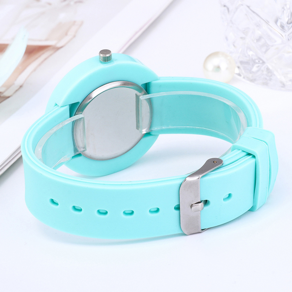 Hot Selling Silicone Wristwatch Women Quartz Fashion Simple Style Watch For Female фото