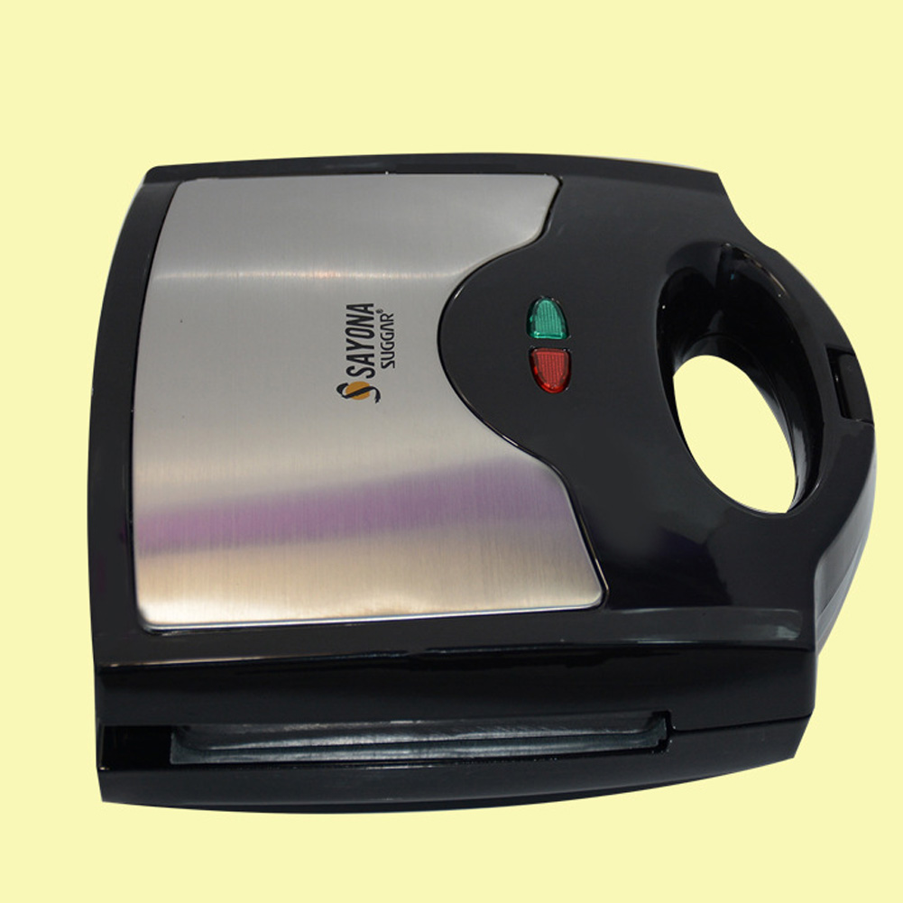 Waffle Maker, Sandwich Grill, 800-Watts, 3-in-1 Detachable Non-stick Coating, LED Indicator Lights, Cool Touch Handle фото