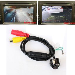360 Degree Rotatable CCD Parking Reverse Car Front/Side/Rear View Camera