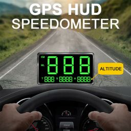 Car Digital GPS Speedometer Speed Display KM/h MPH Fit For Car Bike  Motorcycle Auto Accessories C80