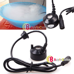 New Ultrasonic Mist Maker Fogger Fog Water Fountain Pond Atomizer Air Humidifier